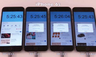 Quel a été l'impact des nouvelles versions d'iOS sur l'autonomie de l'iPhone : test et résultats (vidéo) 37