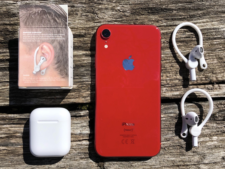 Promo flash / Test des EarHooks, des contours d'oreille pour faire du sport avec ses AirPods sans risque de perte 1