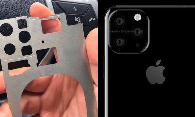 iPhone 2019 : première photo de pièce détachée avec triple capteur photo ? 13