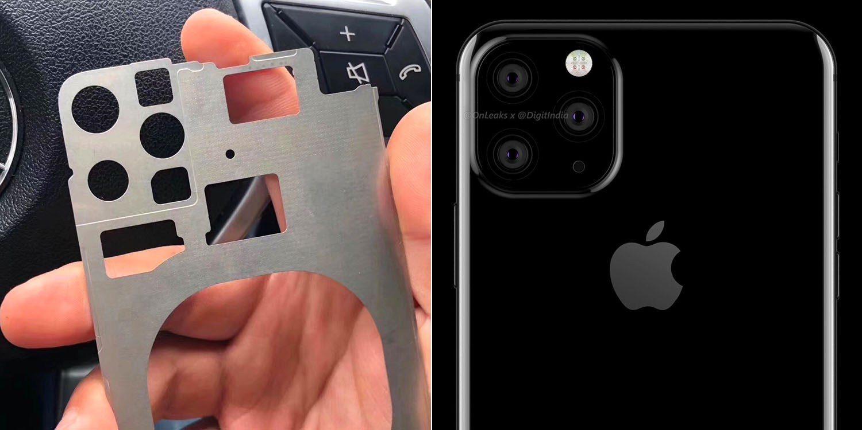 iPhone 2019 : première photo de pièce détachée avec triple capteur photo ? 1