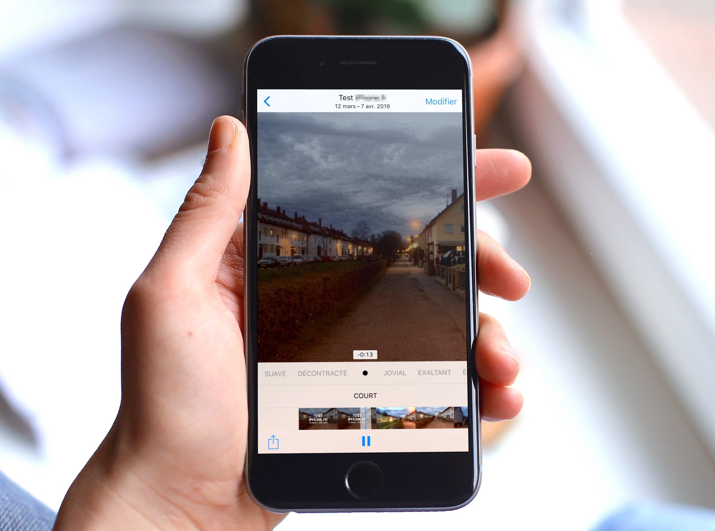 """Tuto iOS : comment créer ses propres vidéos """"Souvenir"""" avec une sélection de photos 1"""