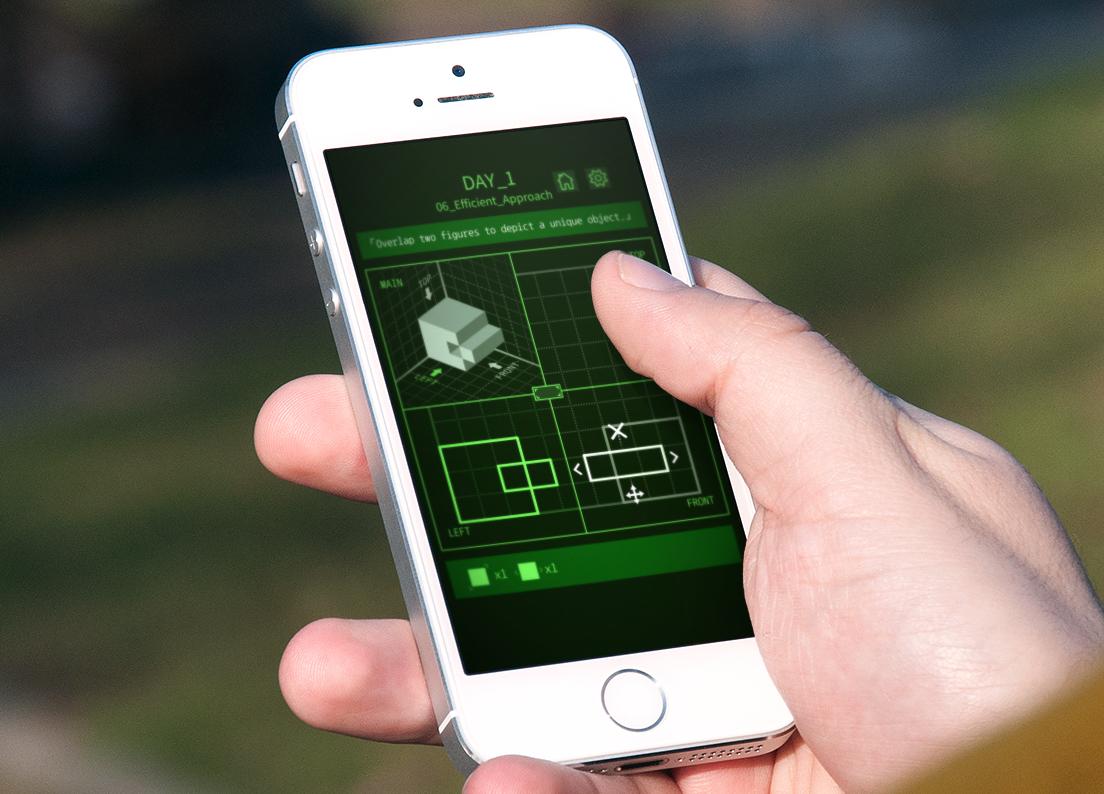 Nous avons résolu les casse-têtes 3D de Viewport, disponible sur , iPhone, iPad 1