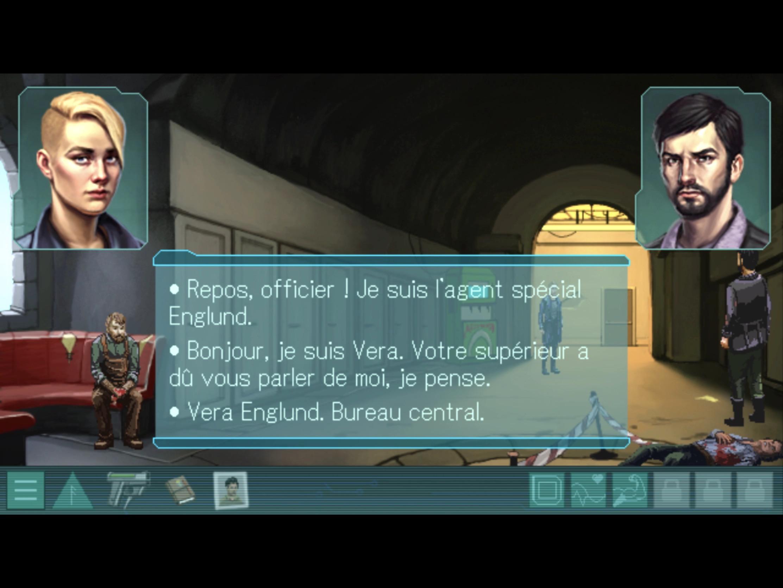 Test: on a résolu les crimes du dystopique Whispers of A Machine, nouveau jeu iPhone, iPad 3