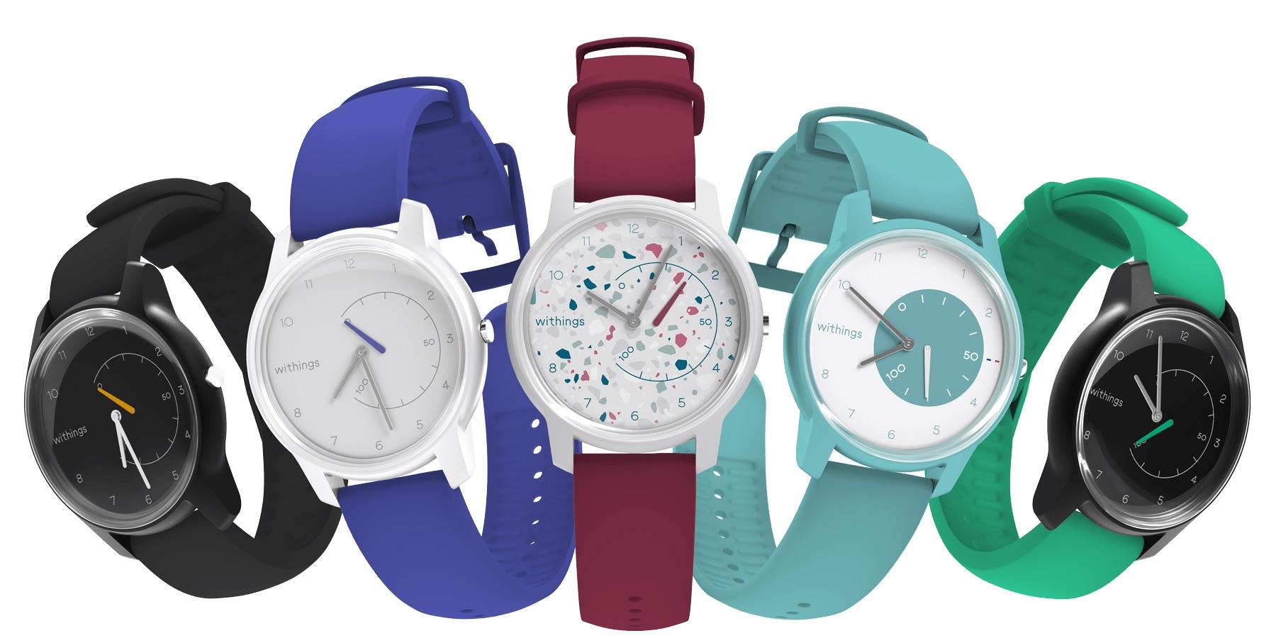 Withings rend ses montres connectées Move personnalisables esthétiquement ! 1