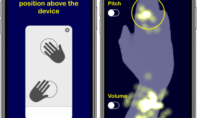 AirSynth : créer des sons avec des gestes de la main sur iPhone, iPad 5