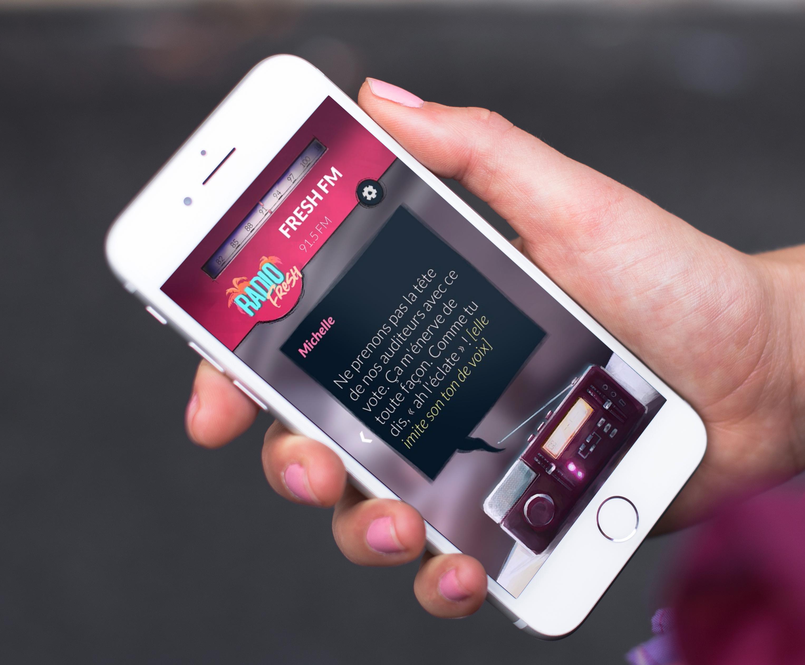 """Alt-Frequencies : les créateurs """"d'Another Lost Phone"""" sortent une enquête qui s'écoute, sur iPhone et iPad 1"""