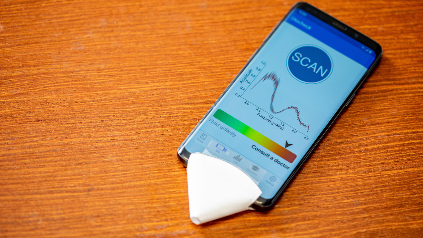 Des chercheurs développent une app iPhone pour détecter les symptômes d'une otite, avec un simple papier 1