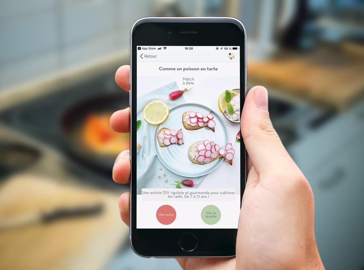 Appetia : tout nouveau moteur d'idées de recettes de cuisine sur iPhone et iPad 1
