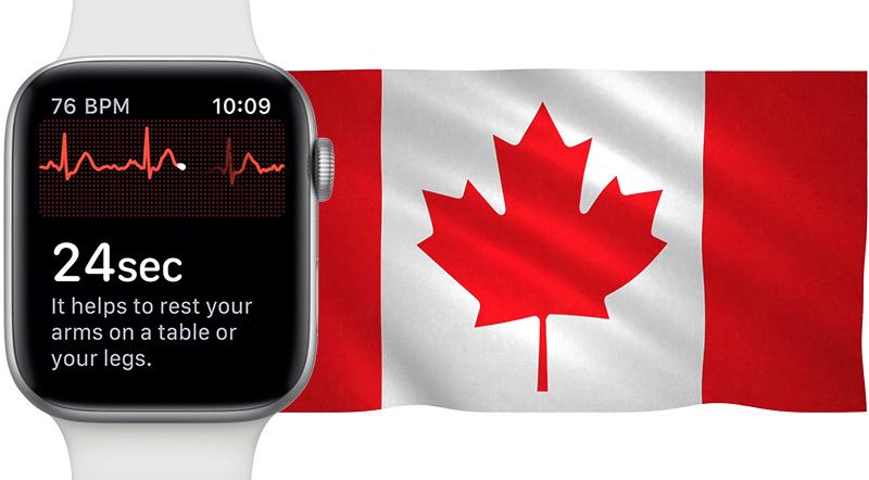La mesure d'électrocardiogramme arrive sur les Apple Watch au Canada 1