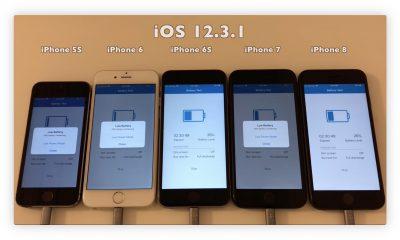 iOS 12.3.1 cache une bonne surprise pour l'autonomie de certains iPhone 13