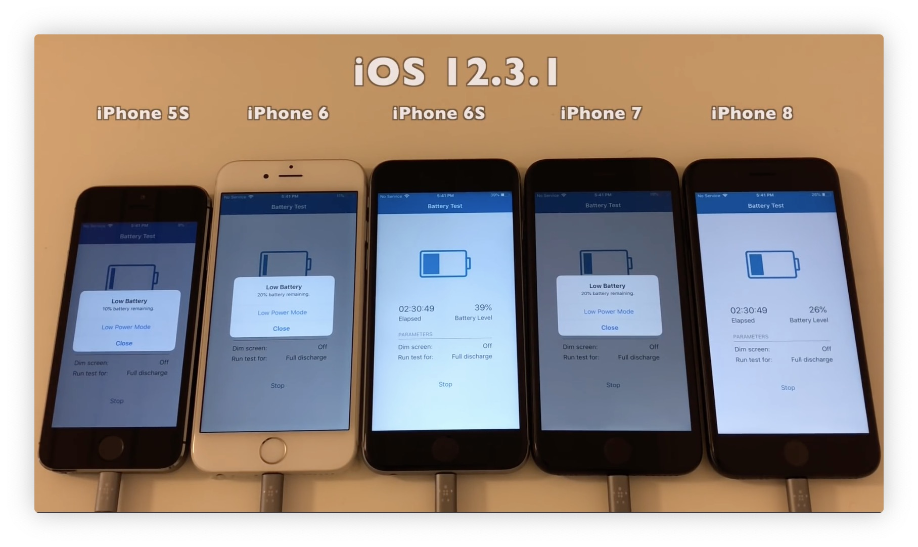 iOS 12.3.1 cache une bonne surprise pour l'autonomie de certains iPhone 1