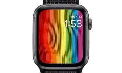 Avec watchOS 5.2.1, des nouveautés pour le cadran arc-en-ciel des Apple Watch 9