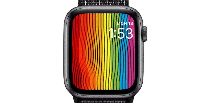 Avec watchOS 5.2.1, des nouveautés pour le cadran arc-en-ciel des Apple Watch 1