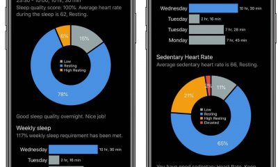 L'app CardioBot analyse le rythme cardiaque mesuré par l'Apple Watch et donne des conseils pour l'améliorer 13