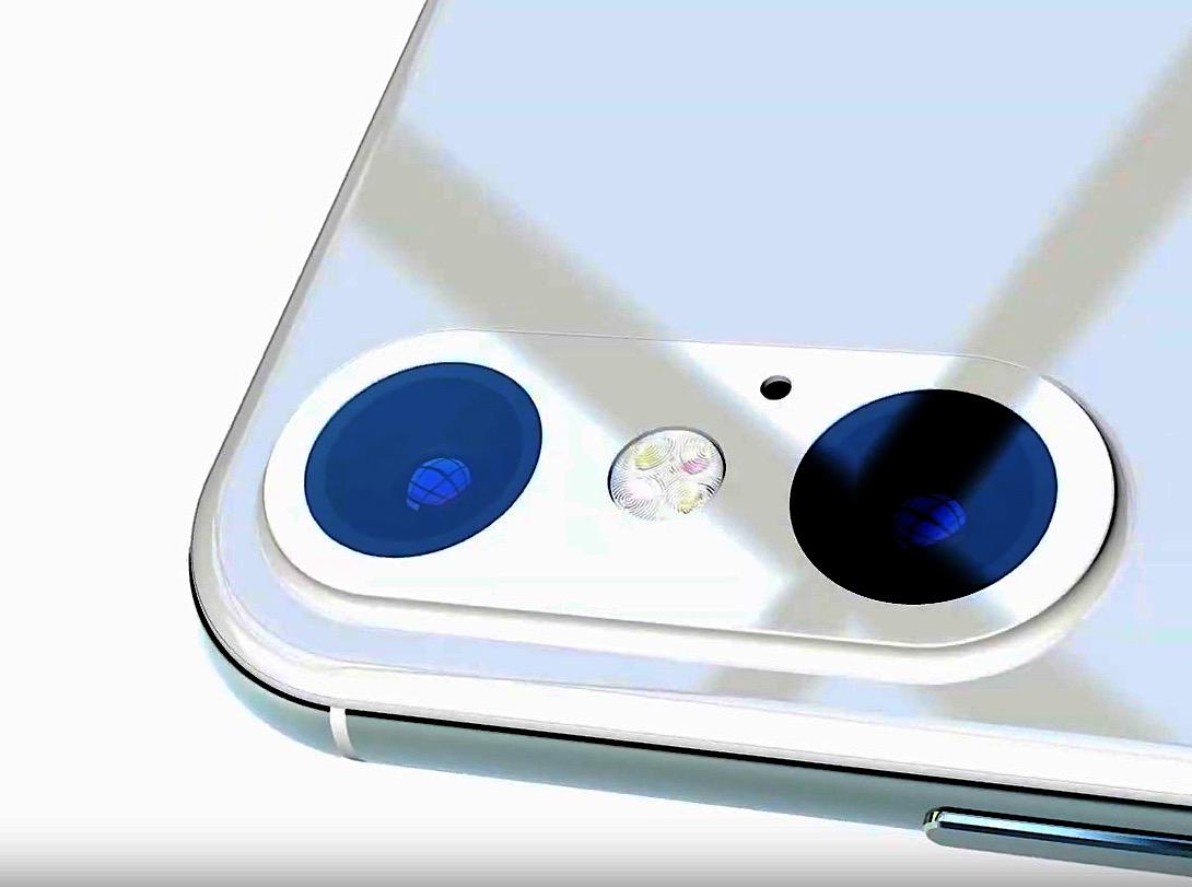 Le prochain iPhone XR version 2019 et ses deux objectifs imaginés dans un concept vidéo 1