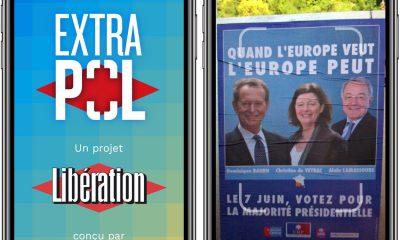 """Extrapol : une appli iPhone qui fait """"parler"""" les affiches de la campagne européenne 7"""