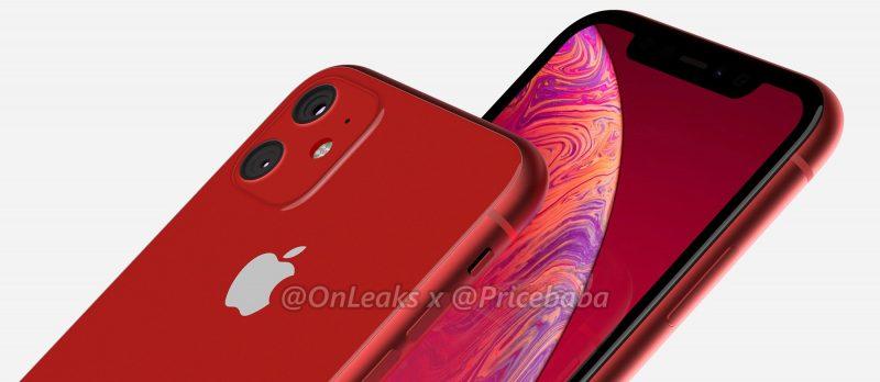Des rendus et une vidéo anticipent l'iPhone XR version 2019 et ses deux objectifs 1