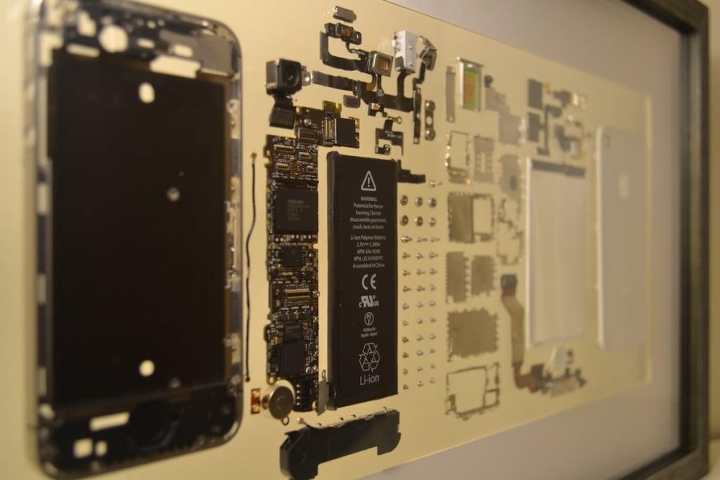 Votre vieil iPhone peut devenir... un tableau ! 1
