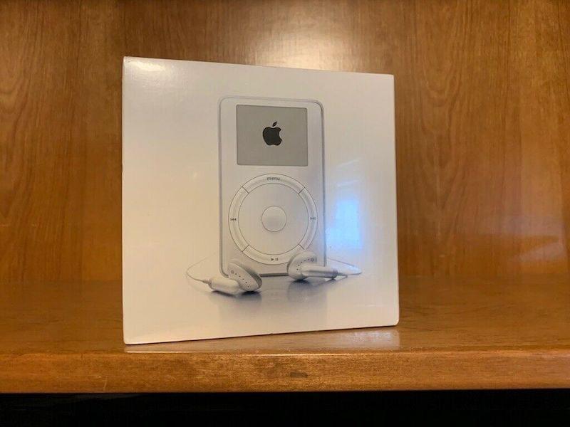 Si vous avez oublié un iPod 1 (emballé) ... Alors il vaut peut-être de l'or ! 1