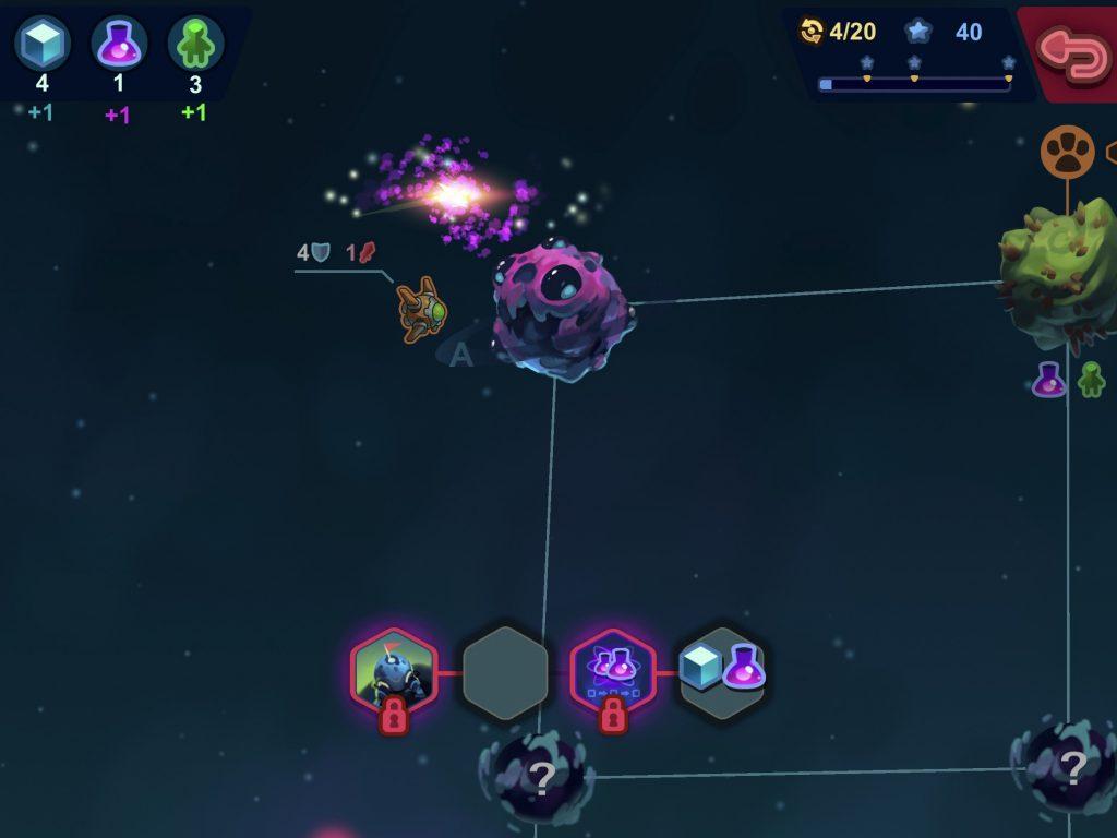 Test de Mini Gal4Xy: enfin de la stratégie spatiale au tour par tour accessible sur iPhone, iPad 4