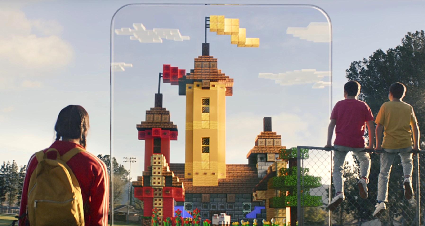 On en sait (beaucoup) plus sur la mécanique de jeu du Minecraft AR que prépare Microsoft (vidéo) 1
