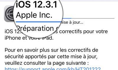 Sortie d'iOS 12.3.1 : version corrective pour iPhone et iPad, liste des modifications 15