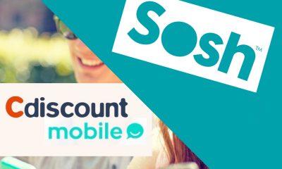 Promos forfaits : illimité + 50 Go chez Sosh et 100 Go chez Cdiscount Mobile pour 9,99 € mensuels 2