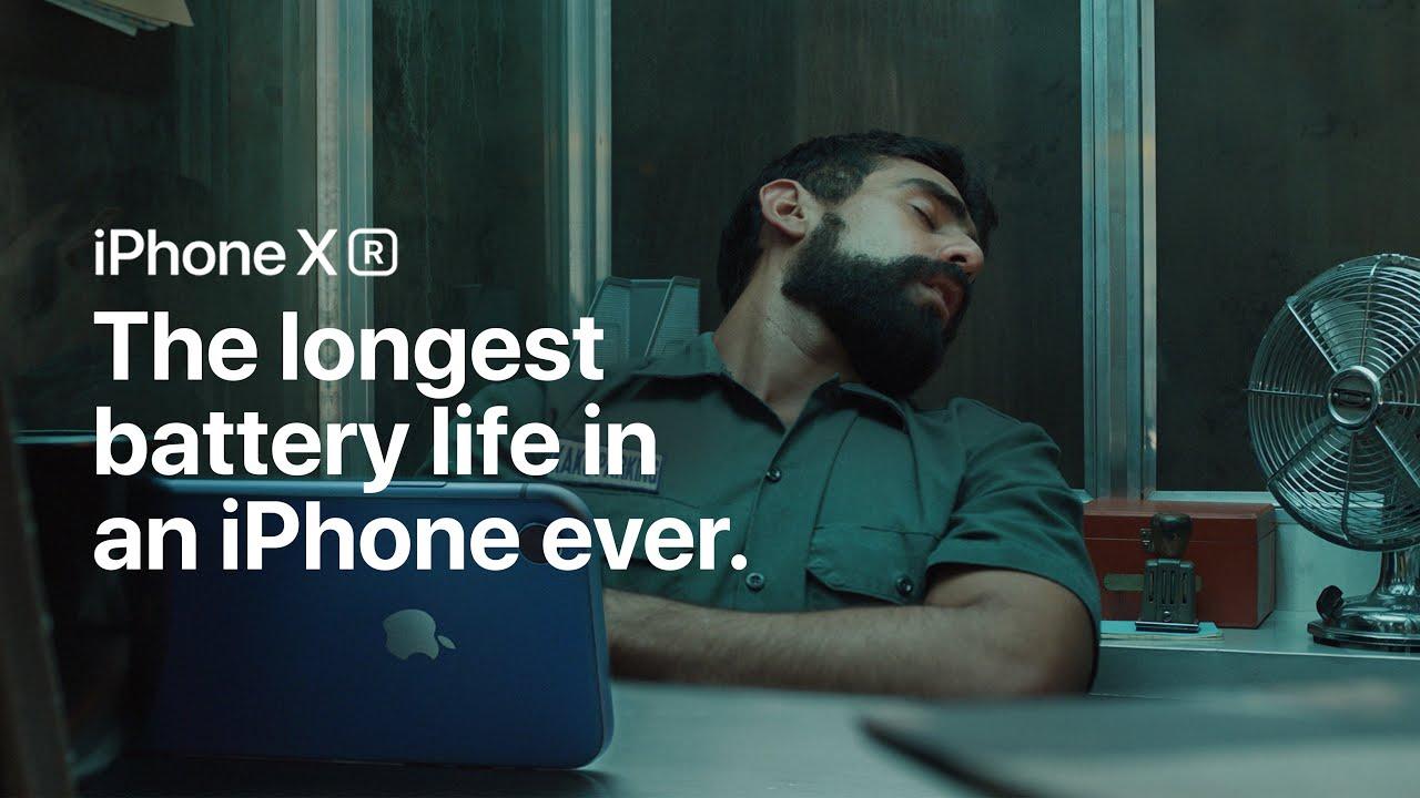 L'iPhone XR a une meilleur autonomie que vous : vidéo ! 1