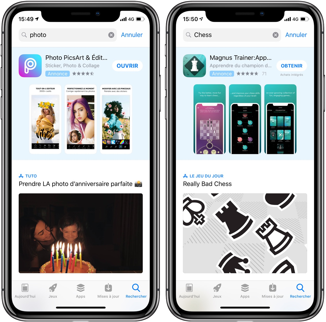 Les pubs sur l'App Store : un business florissant pour Apple selon Tim Cook 1