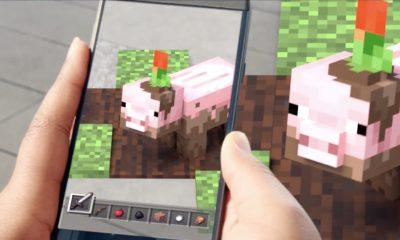 Microsoft fait miroiter un Minecraft en Réalité Augmentée sur mobile 25