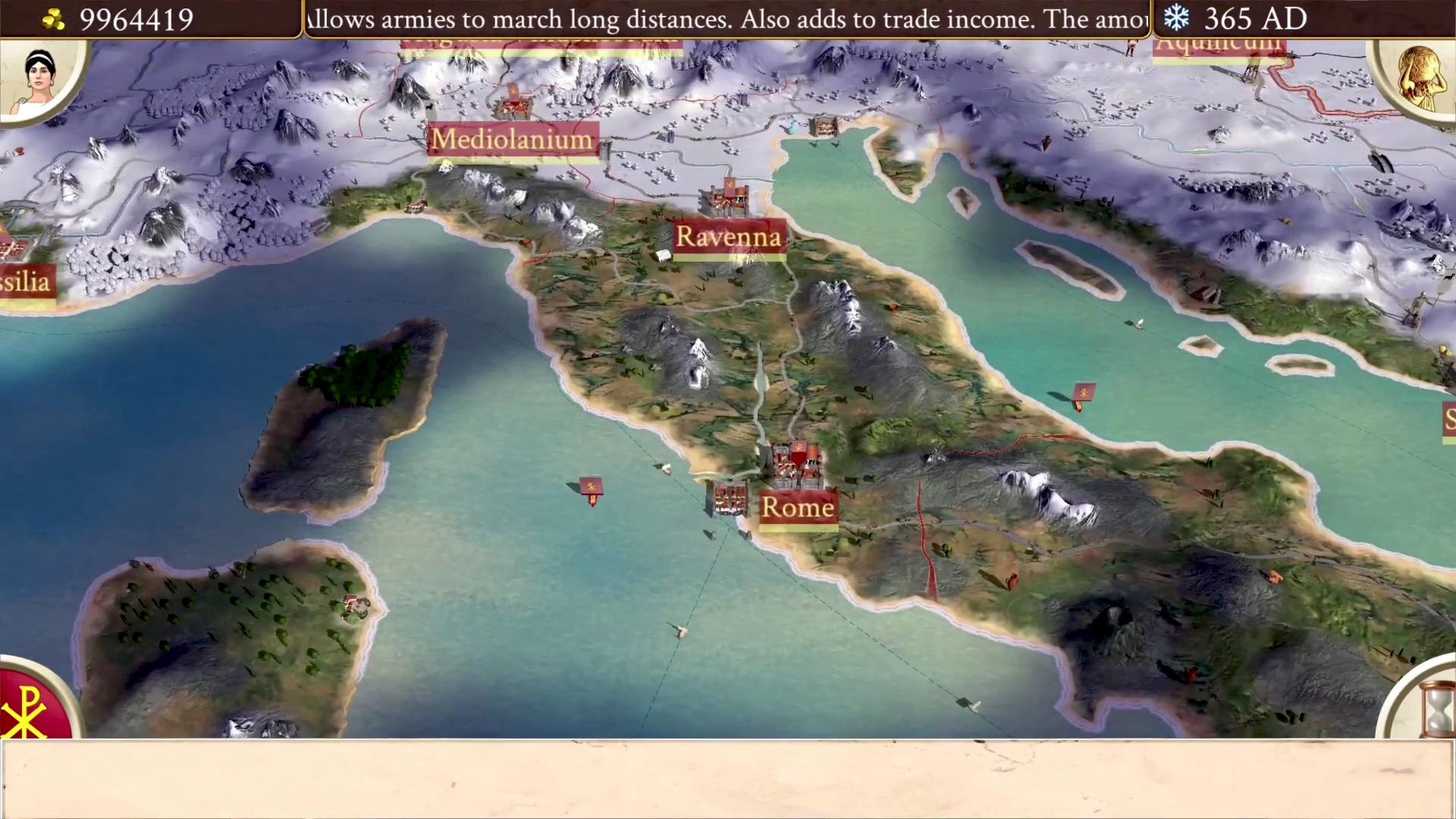 Après l'iPad, les barbares envahissent l'iPhone dans l'excellent Rome Total War : disponible ! 1