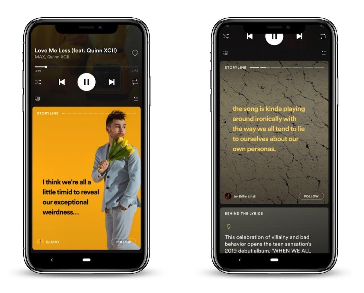Spotify prépare les stories, pour suivre les artistes au quotidien 1