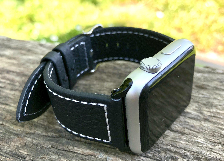 Test (sur 6 mois) du bracelet cuir Fullmosa pour Apple Watch : robuste, élégant et pas cher ! 1