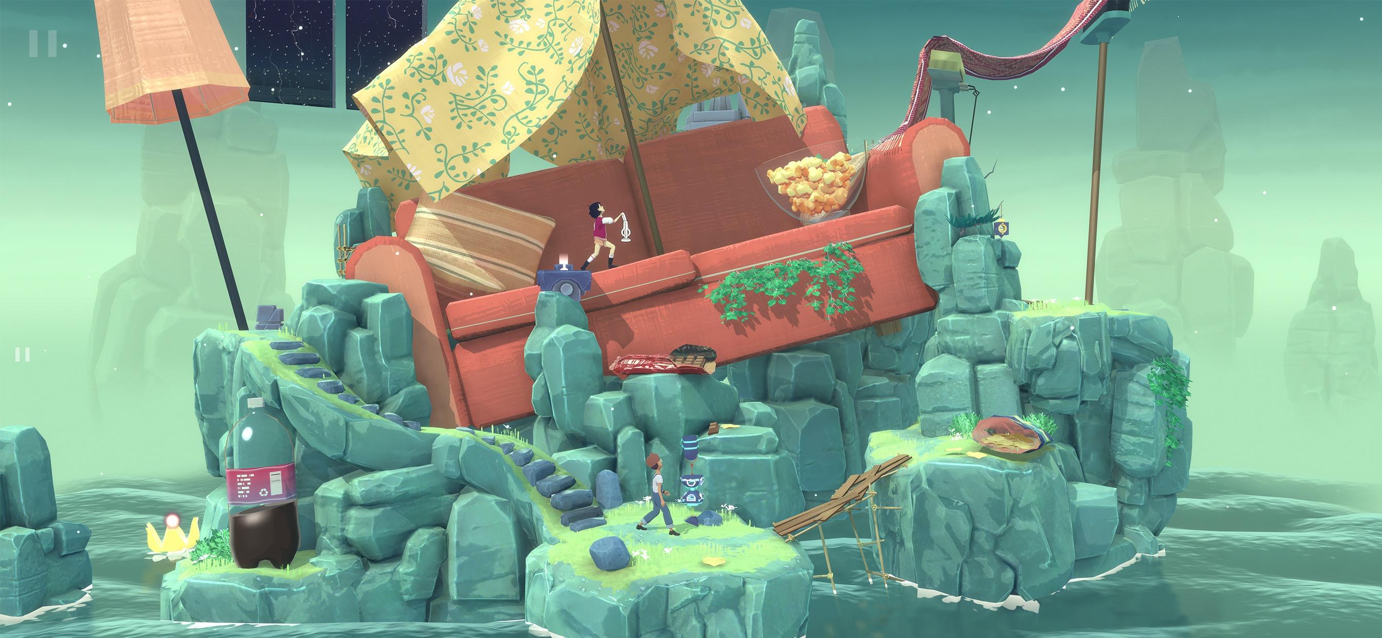 """Test de """"The Garden Between"""" sur iOS : jouez avec les rêves et le temps dans ce jeu d'énigmes original 1"""
