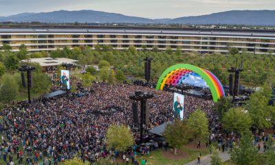 Apple a inauguré l'Apple Park : hommage à Steve Jobs, Lady Gaga et scène arc-en-ciel étaient de la party (photos, vidéos) 1