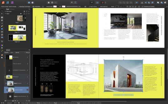 Affinity lance sa solution de publication sur Mac 2