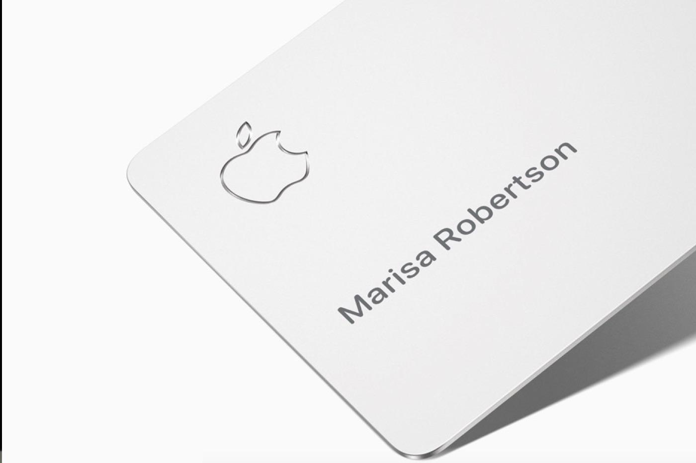 Apple Card, carte bancaire d'Apple