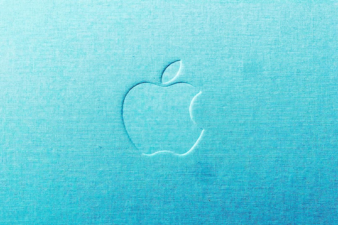Apple Logo brodé