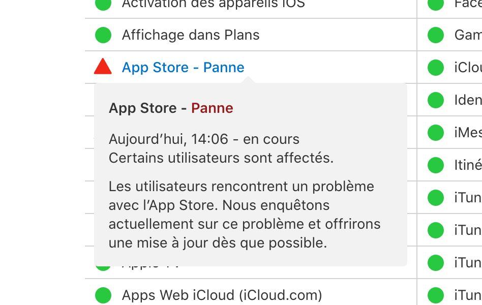 L'App Store ne fonctionne pas ? Pareil pour Apple Music ? C'est un problème chez Apple 1