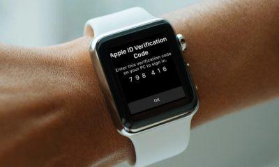 Avec watchOS 6, le code de l'identification à deux facteurs arrive sur l'Apple Watch 5
