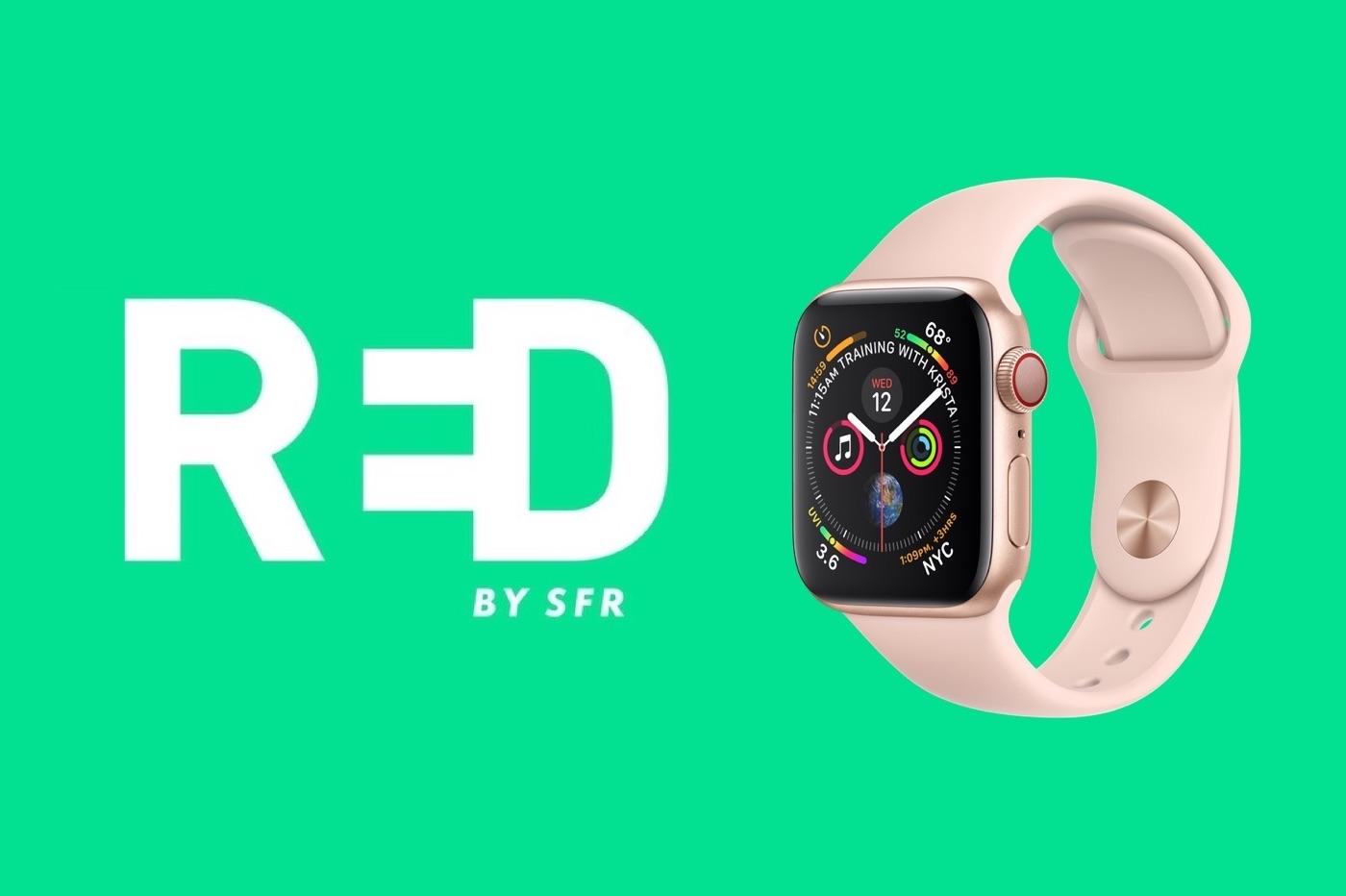 L'option eSIM pour Apple Watch disponible chez SFR et RED by SFR 1