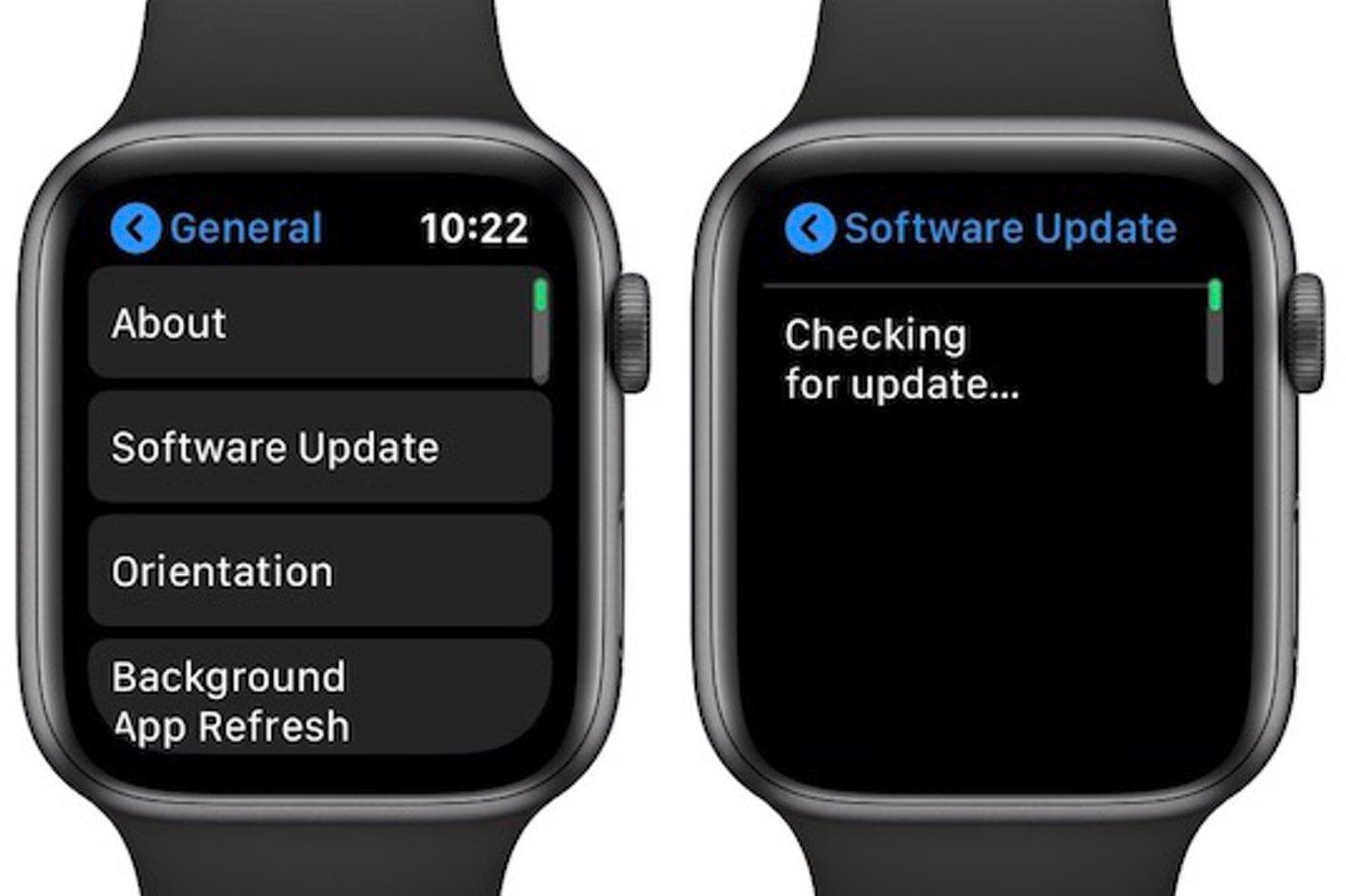 L'Apple Watch se mettrait bientôt à jour sans l'iPhone 1