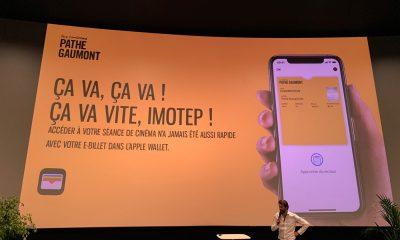 Apple Pay : billet NFC avec Pathé et Navigo dans l'iPhone 15