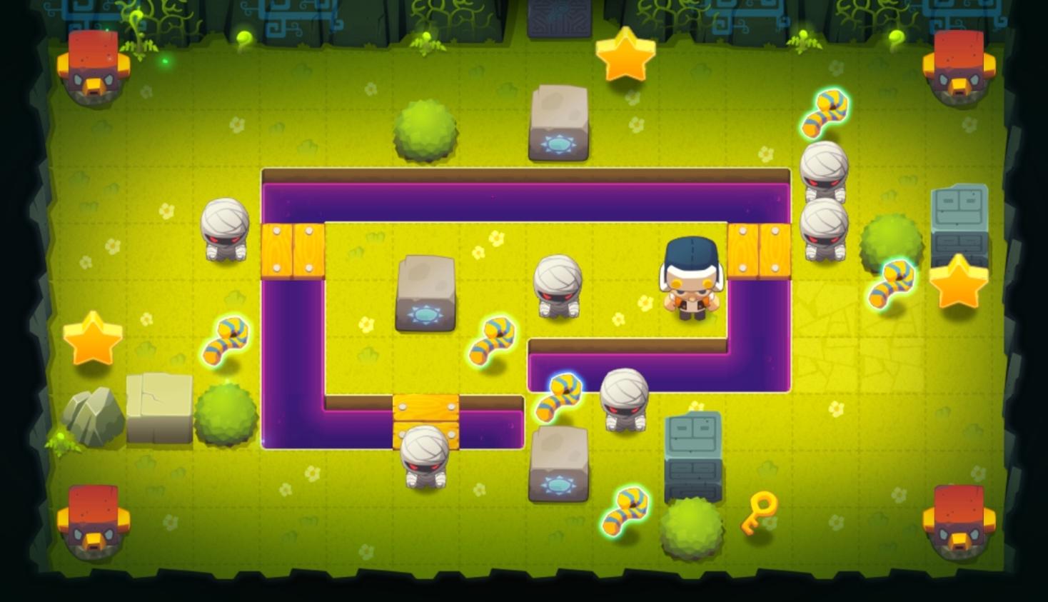 Les meilleures sorties jeux iPhone et iPad de la semaine, dont Knights of Tartarus, Dark Quest 2, BiuBiu Jungle Puzzle et plus 1