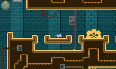 Accompagnez Bubbles the Cat dans les 120 niveaux de ce nouveau et bon jeu de plateforme 2D iPhone, iPad 11