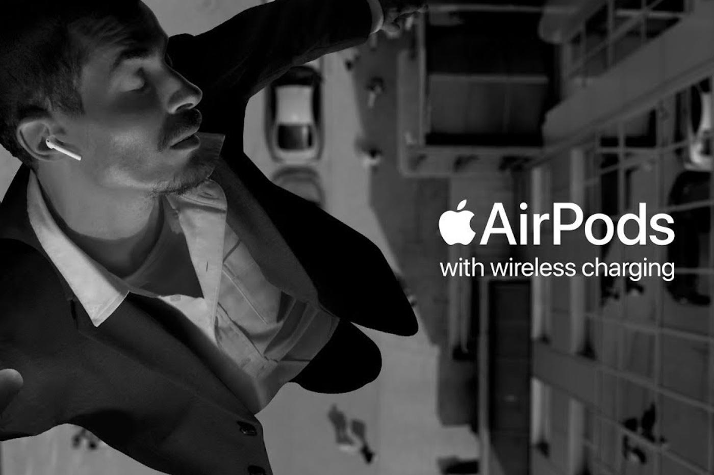Les AirPods rebondissent dans un nouveau clip d'Apple 1