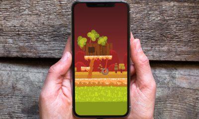 On s'est perdu dans les enfers du difficile Death Hall, nouveau jeu de plateforme iPhone, iPad 17