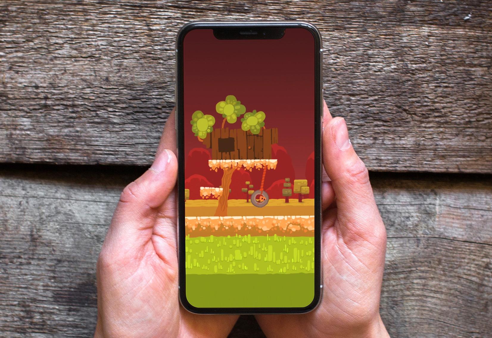 On s'est perdu dans les enfers du difficile Death Hall, nouveau jeu de plateforme iPhone, iPad 1