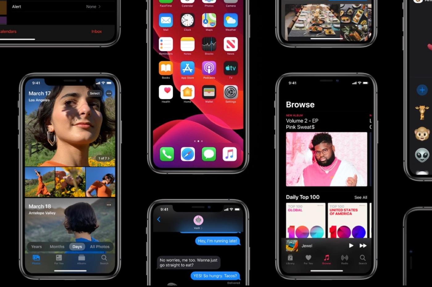 iOS 13 mise à jour