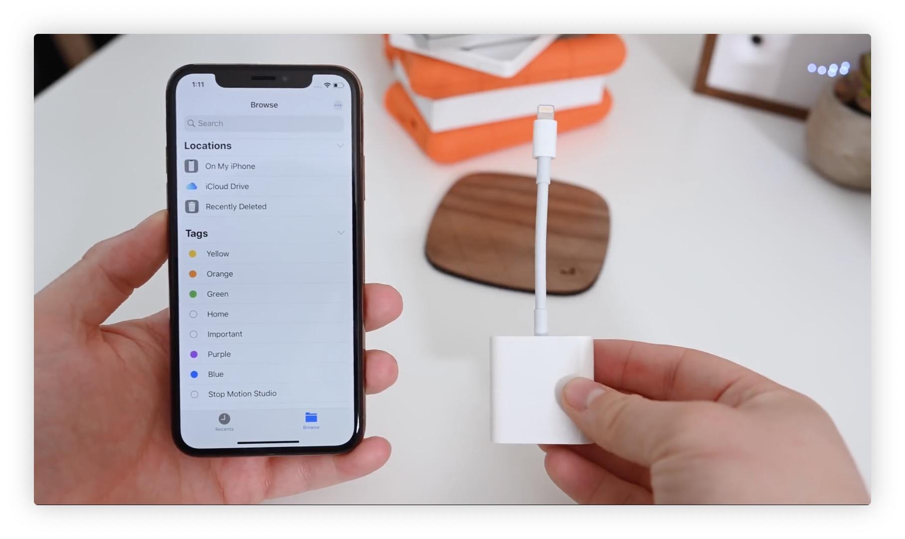 Support des clés usb, disques durs et autres cartes mémoires sous iOS 13 : ce qui change sur iPhone et iPad 1